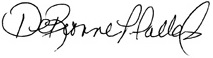 Presidents Signature